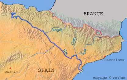 Ebro Valley Spain Catalonia The Ebro Valley